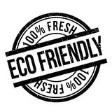 Eco friendly stamp Royalty Free Stock Images