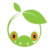 Eco-friendly symbol. Illustration background Royalty Free Stock Photos