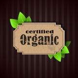 Eco Friendly tag Organic Royalty Free Stock Image