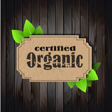 Eco Friendly tag Organic Royalty Free Stock Photos