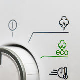 Eco friendly washing machine Royalty Free Stock Photos