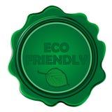 Eco Friendly wax seal Stock Photo