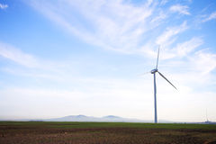 Eco friendly windpower Stock Photography
