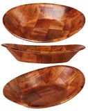 Eco-Friendly wooden bowl made of Natural meterials, handmade. stock photo