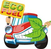 Eco fuel Royalty Free Stock Image