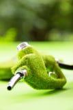 Eco fuel nozzle Royalty Free Stock Image