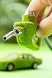 Eco fuel nozzle,energy concept Stock Photos