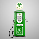 Eco fuel royalty free illustration