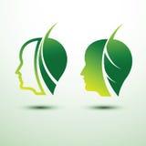 Eco głowa Obrazy Stock