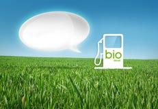 Eco gaz Fotografia Stock