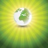 Eco Globe Design Stock Photo