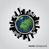 Eco Globe Design Vector Royalty Free Stock Image