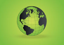 Eco Globe vector Stock Photography