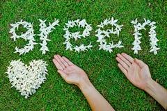 Eco go green Stock Image