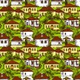 Eco gospodarstwa rolnego ilustracja royalty ilustracja