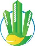 Eco grön konstruktion stock illustrationer