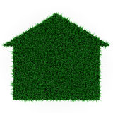 Eco grass house Royalty Free Stock Photos