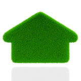 Eco grass house Royalty Free Stock Image