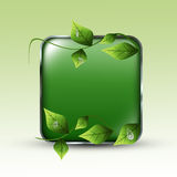 Eco Green Background Royalty Free Stock Images