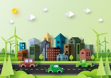 Free Eco Green City And Urban Nature Landscape Environment Concept. Stock Photo - 116050280