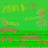 Eco green concept Royalty Free Stock Images