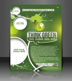 Eco Green Design Royalty Free Stock Photography