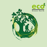 Eco , green earth Royalty Free Stock Image
