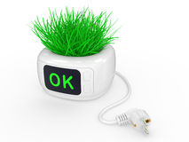 Eco green energy  concept Stock Photography