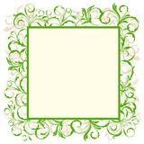 Eco green frame Stock Images