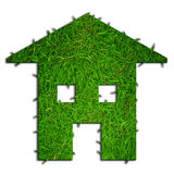 Eco green house Stock Image