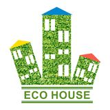 Eco green house concept Royalty Free Stock Image