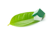 Eco green house Royalty Free Stock Images