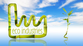 Eco green Industries Stock Images