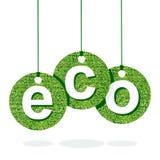 Eco green letter Stock Photos
