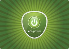 Eco green power Stock Photography