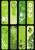Eco green  set Royalty Free Stock Images
