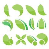 Eco green vector elements Stock Photo