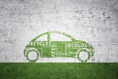 Eco grunge textured car background Royalty Free Stock Photos