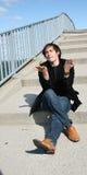 eco guy στοκ εικόνα με δικαίωμα ελεύθερης χρήσης