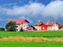 Eco Häuser Lizenzfreie Stockfotografie