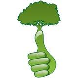 Eco hand Stock Photography
