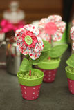 Eco handmade kwiat Zdjęcia Stock