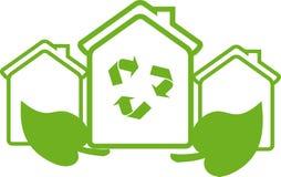 Eco Haus Lizenzfreie Stockfotografie