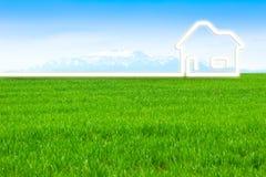 Eco Haus Lizenzfreie Abbildung