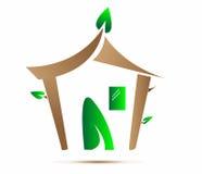 Eco Haus stockfotografie