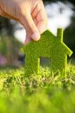 Eco Hauskonzept Lizenzfreie Stockbilder