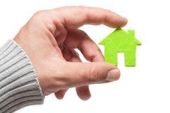 Eco Hauskonzept Stockfoto