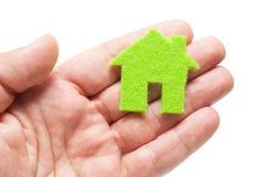 Eco Hauskonzept Lizenzfreies Stockbild