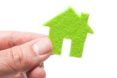 Eco Hauskonzept Lizenzfreie Stockfotos