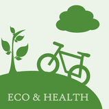 Eco and health Royalty Free Stock Photography